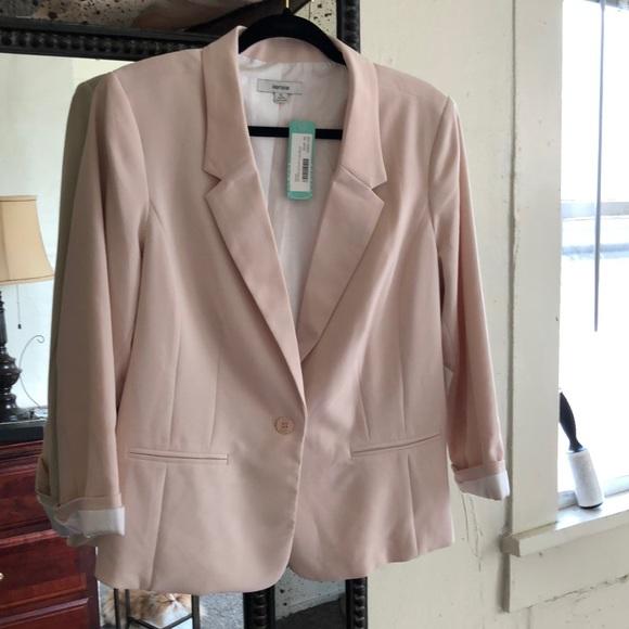 Kensie Jackets & Blazers - Kenzie blush XL cardigan NWT